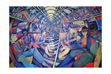 Subway NYC, 1994 Giclee Print by Charlotte Johnson Wahl