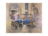 Outside the Ritz Giclee Print by Peter Miller