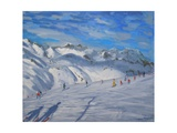 Mountain Tops, Tignes, 2009 Giclee Print by Andrew Macara