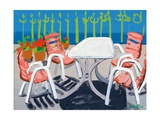 Table and Chairs, 2010 Giclee Print by Sarah Gillard
