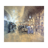 York Railway Station Giclee Print by Peter Miller