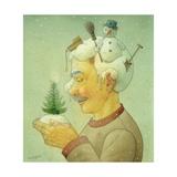 Snowy Winter, 2006 Giclee Print by Kestutis Kasparavicius