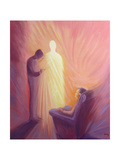Jesus Christ Comes to Us in Holy Communion When We are Sick or Housebound, 1993 Giclee Print by Elizabeth Wang