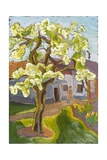 Blooming Pear Tree, 2008 Giclee Print by Marta Martonfi-Benke