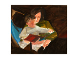 Reading, 2004 Giclee Print by Daniel Clarke