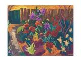 Mum's Garden, 2009 Giclee Print by Marta Martonfi-Benke
