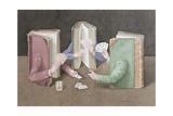 The Card Players, 2004 Giclee Print by Jonathan Wolstenholme
