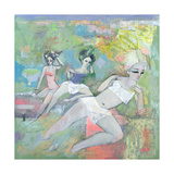 Bathers, 1996 Giclee Print by Endre Roder