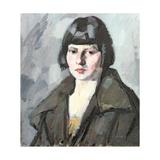 Head of a Young Girl, C.1920 Giclee Print by Samuel John Peploe