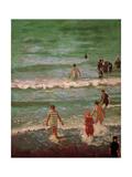 Bathers, Dieppe, 1902 Impression giclée par Walter Richard Sickert