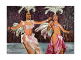 Belly Dancers, 1987 Giclee Print by Komi Chen