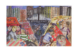 New York, 1995 Giclee Print by Hilary Rosen
