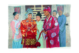 Wedding Day, 2006 Giclee Print by Komi Chen