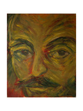 Shakespeare, Macbeth, from 'The Faces of Shakespeare' Giclee Print by Annick Gaillard