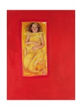 Girl in Bed, 2004 Giclee Print by Lucinda Arundell