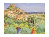 Tuscan Travel, 2009 Giclee Print by Victoria Webster