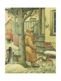Russian Scene 03, 1994 Giclee Print by Kestutis Kasparavicius