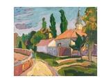 Village Mood, 2008 Giclee Print by Marta Martonfi-Benke