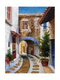 Lefkimi, Corfu, 2006 Giclée-tryk af Trevor Neal