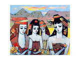 Four from Ys, 2004 Giclee Print by Endre Roder