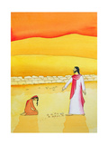 Jesus Forgives the Woman Caught in Adultery, 2006 Wydruk giclee autor Elizabeth Wang