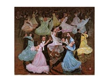 Ballroom Dancing, 1993 Giclee Print by Komi Chen