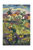 Garden of My Childhood, 2005 Giclee Print by Marta Martonfi-Benke