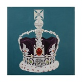Crown Jewels 5, 2001 Giclee Print by Cathy Lomax