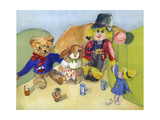 Granny Tuffy's Toys Giclee Print by Ann Robson