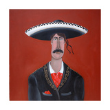 The Mariachi Giclee Print by John Wright