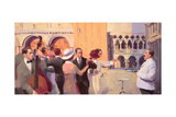 Eight O'Clock Waltz, 2005 Giclee Print by Alan Kingsbury