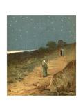 Sunset Giclee Print by Henry Andrew Harper
