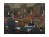 The Verdict, 2000 Giclee Print by Alexander Goudie
