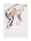 European Lynx Giclee Print by Mark Adlington