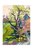 Garden in Dusk Light, 2006 Giclee Print by Marta Martonfi-Benke