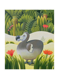 The Last Dodo Giclee Print by Reg Cartwright