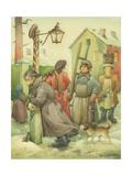 Russian Scene 01, 1994 Giclee Print by Kestutis Kasparavicius