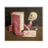 Shakespearean Scholar, 2003 Giclee Print by Jonathan Wolstenholme