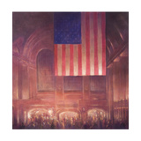 Grand Central Station Giclee Print by Lincoln Seligman