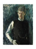 Self Portrait in Gilet, C.1965 Giclee Print by Alexander Goudie