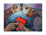 El Gallo Giclee Print by Oscar Ortiz