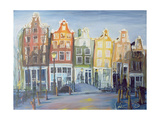Houses of Amsterdam, 1999 Giclee Print by Antonia Myatt