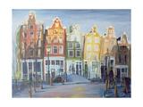 Houses of Amsterdam, 1999 Giclee Print by Antonia Myatt