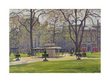 Berkeley Square, London Giclee Print by Julian Barrow
