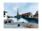 The Inner Pool, Bristol, 1960 Giclee Print by Tristram Paul Hillier