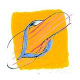 Flip Flop Giclee Print by Anna Platts