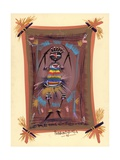 The Gift of Africa, 2006 Giclee Print by Oglafa Ebitari Perrin