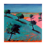 Valley Giclee Print by Paul Powis