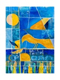 Blue Horizons Giclee Print by Margaret Coxall