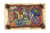 Turtle Wisdom, 2003 Giclee Print by Oglafa Ebitari Perrin
